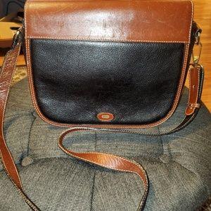 Bally Saddle Bag Style Crossbody Purse